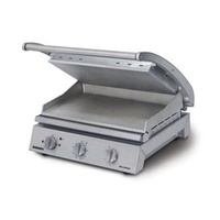 Grill Station - 8 Slice - Smooth Plates - 15 amp - Ideal for Panini's, Focaccia's, Toasted Sandwiches, Steak, Fish etc