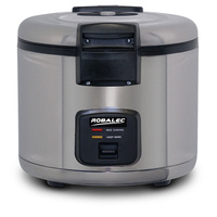 6 Ltr Rice Cooker And Warmer S/S Robalec