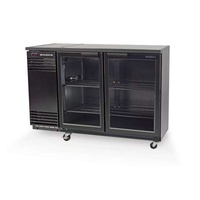 Skope Backbar BB380X Underbench Chiller With 2 Swing Doors And Integral Motor - 1500x590x920mmH