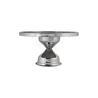 330x175mm Cake Stand S/S - High (T04125)