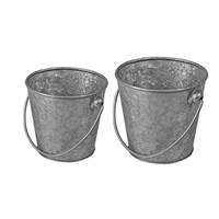 110x100mm Galvanised mini serving Bucket