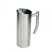 1.0 Ltr S/S Satin Water Jug
