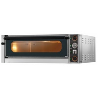 Gam M6G Electric Single Deck Pizza Oven - 1360x1120x360mmH