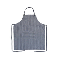 Black/Grey Brooklyn Bib Apron Chef Works