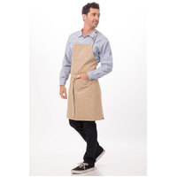Austin Natural Denim Bib Apron Chef Works