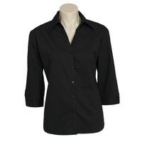 Ladies Metro 3/4 Sleeve Shirt (Colour)