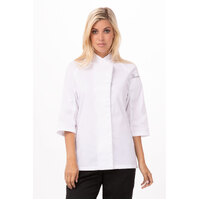 Verona V-series Women's Chef Jacket (colour/size) - VSWO-colour-size Chef Works