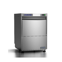 Starline UL Premium Undercounter Dishwasher,  Fully Insulated- With Rinse & Drain Pumps, 500mm Rack