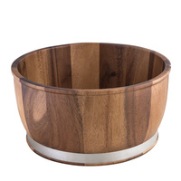 310x155mm Display Bowl, Wooden -Moda