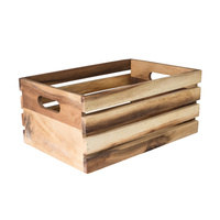 340x320x150mm Wooden Crate -Moda