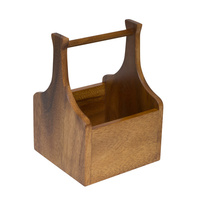 140mm Square Caddy, Wooden Moda