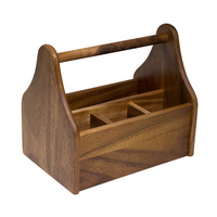 230x155mm Caddy, Wooden Moda
