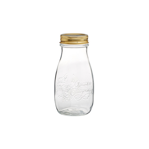 400ml Glass Bottle with lid