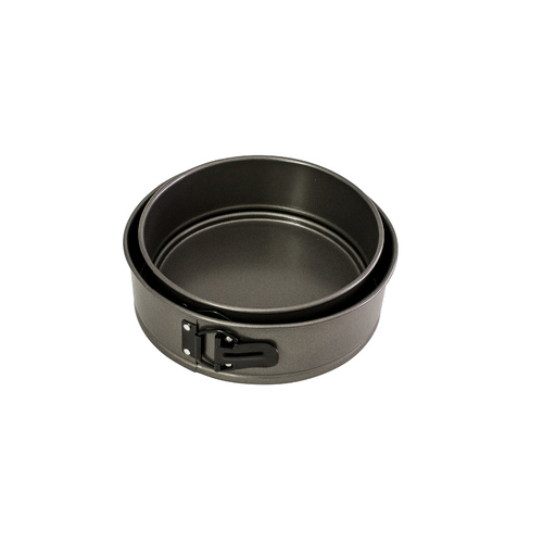 Twin pack 200 & 230mm Round Springform Cake Tin Masterclass- Non Stick
