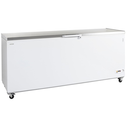 Tefcold CF300S Chest Freezer with Stainless Steel Top - 1015 x 716 x 830mmH