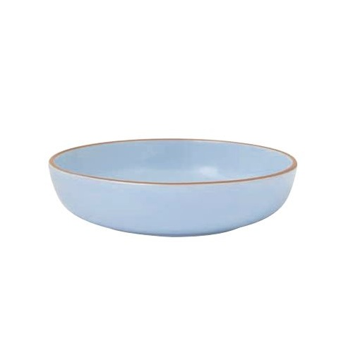 260mm Light Blue Round Serving Bowl - Regas
