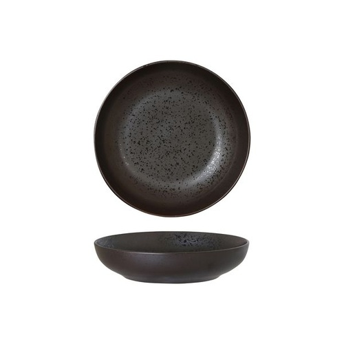 180mm Share Bowl Lava Matt Black Luzerne