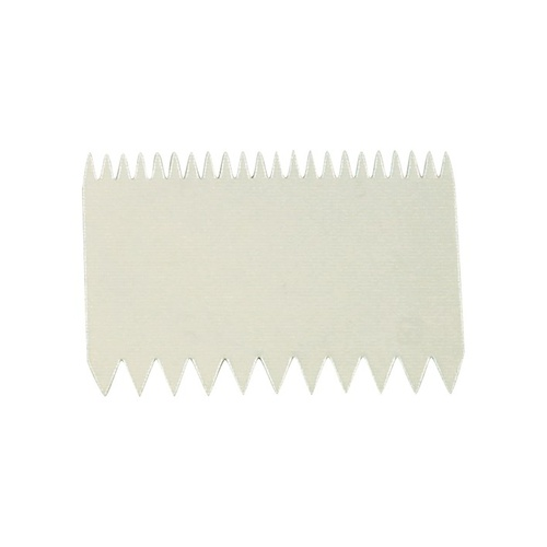 Double sided pastry Comb