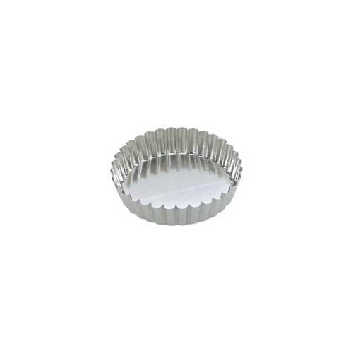 100 x 30mm Loose Base Fluted Quiche Pan