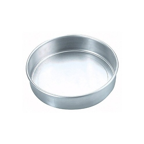 200 x 50mm Loose Base Cake Tin - Aluminium
