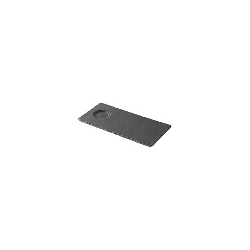 250x120mm Basalt Slate Tray With Well