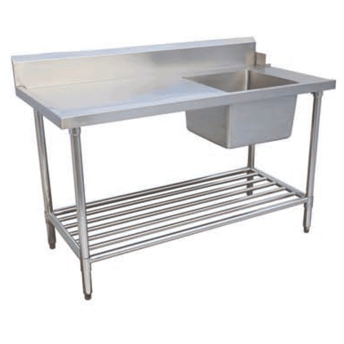 Dishwasher Outlet Bench (Right Side) - 1200x700x900mmH
