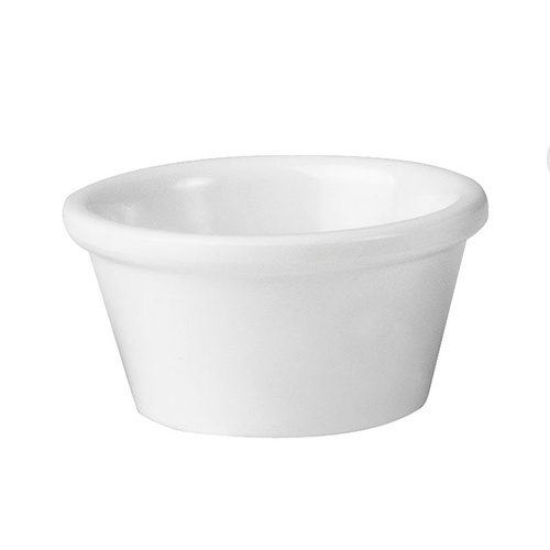 60ml White Dipping Dish - Melamine
