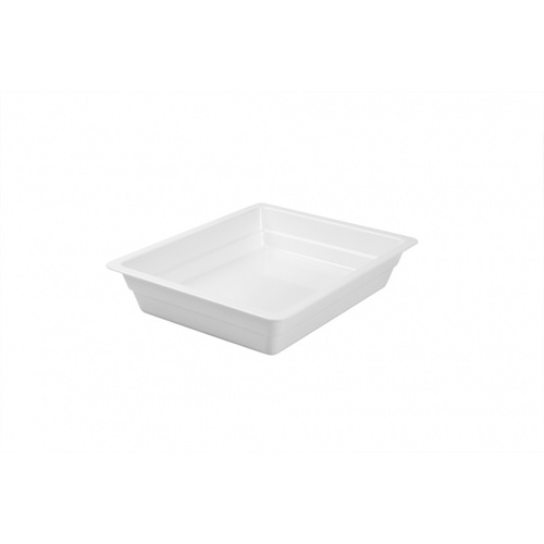 Melamine Food Pan - 1/2 Size, 65mm deep. Temperatures from -20°C to 60°C