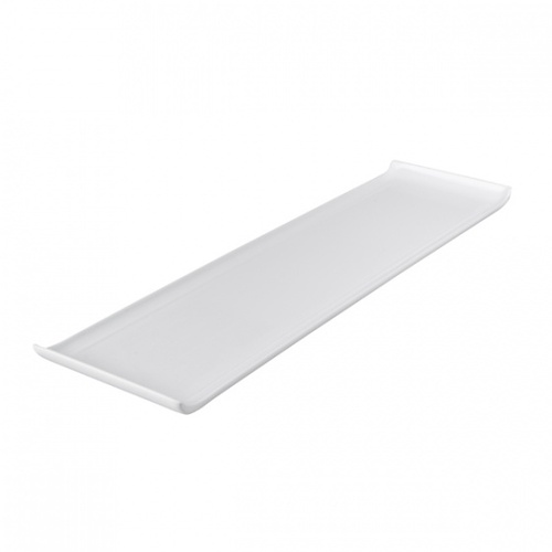 555 x 150mm Rectangular Platter with Lip - Melamine
