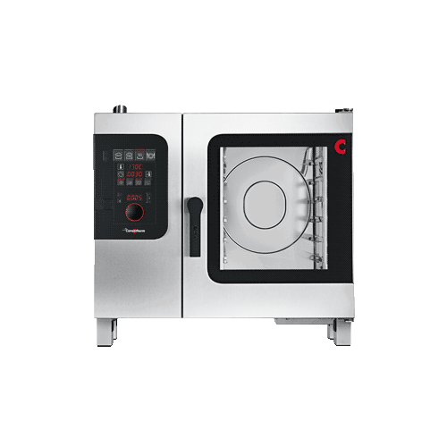 MOFFAT CONVOTHERM COMBI OVEN STEAMER, BOILER VERSION,  3 PHASE ELECTRIC 7 X 1/1GN TRAYS 875mm WIDE X 792mm DEEP X 786mm HIGH (STAND ADDITIONAL)