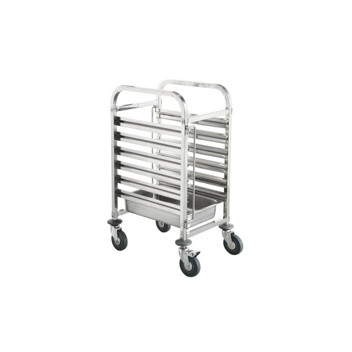 Gastronorm Trolley 6 Trays
