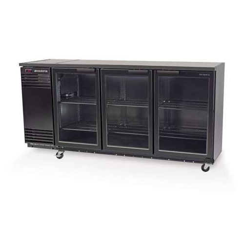 Skope Backbar BB580X Underbench Chiller With 3 Swing Doors And Integral Motor - 2060x590x920mmH
