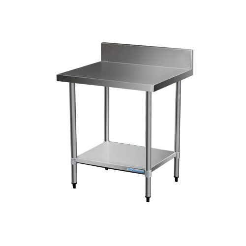 Stainless Steel Bench with Upstand - 800L x 700D x 900H