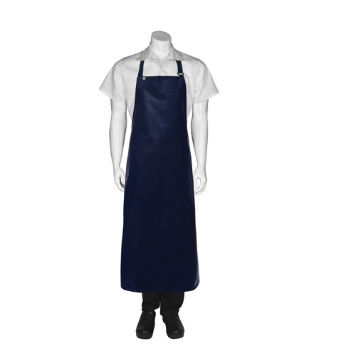 Long PVC Apron Navy - CWPVL-NAV Chef Works