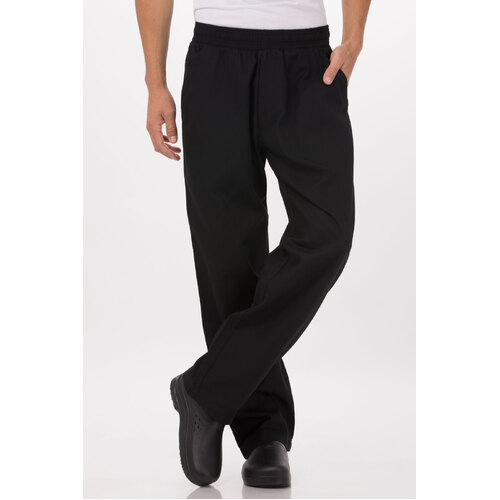 Better Build Baggy Pants Black Small with zip fly - BSOL-BLK-S Chef Works