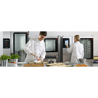 Convotherm Easy Touch Screen Oven Steamer With Convoclean System - 24 x 1/1 Tray or 12 x 2/1 tray Capacity, includes disappearing door,  two year war