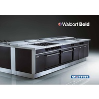 Waldorf RNLB8510G Low Profile Bold Gas Static Oven With 4 Hobs - 750mm Wide