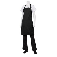Apron Bib Pocket Black - F8-BLK Chef Works