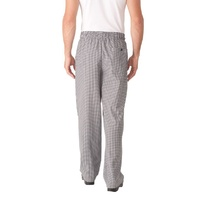 Basic Baggy Small Check Pants Extra Large - NBCP-XL Chef Works