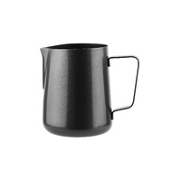 1000ml Black Frothing Jug