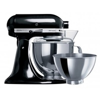 KitchenAid Domestic Mixer with 4.8 Litre and 2.8 Litre Stainless Steel Bowl (Mulitple Colours)