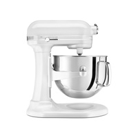 KitchenAid 6.9 Litre  Mixer with Stainless Steel Bowl, Frosted Pearl Mixer