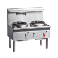 Moffat Cobra CW2H-CC 1200mm Wok Cooker Double Chimney Gas burner's