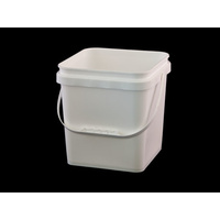 10 Ltr Pail Square Base & Lid