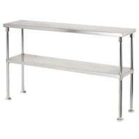 1450mm Double Over Shelf Stainless Steel to create kitchen Pass