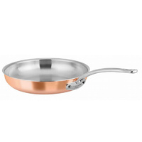 200mm Copper Frypan Chasseur