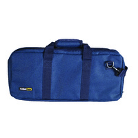 Blue Knife Roll Cheftech 18 Pockets With Shoulder Strap,
