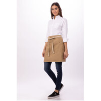 Austin Natural Denim 1/2 waist Apron Chef Works