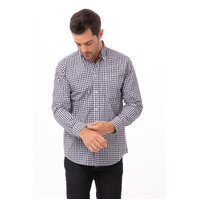 Mens Gingham Shirt (size & colour to confirm) - D500 (BWC, BWK, WRC) Chef Works