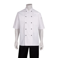 Macquarie Chefs Jacket S/S White - MBSS (size)